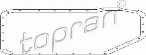 Topran 108757 - Joint, carter d'huile-boîte automatique www.widencarpieces.com