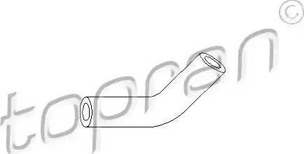 Topran 103405 - Tuyau à dépression, système de freinage www.widencarpieces.com
