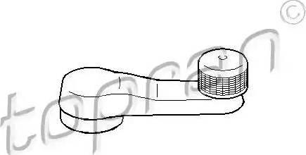 Topran 103101 - Manivelle de vitre www.widencarpieces.com