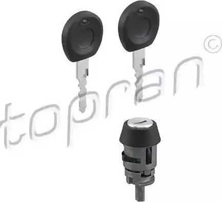 Topran 103112 - Cylindre de fermeture, serrure de contact d'allumage www.widencarpieces.com