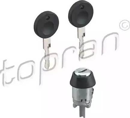 Topran 102926 - Cylindre de fermeture, serrure de contact d'allumage www.widencarpieces.com