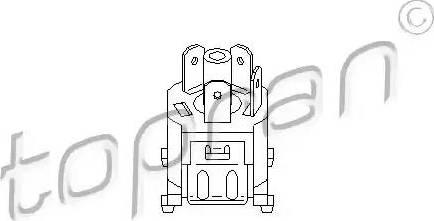 Topran 102691 - Régulateur du pulseur d'air habitacle, chauffage/ventilat° www.widencarpieces.com