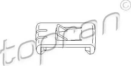 Topran 102673 - Élément d'ajustage, réglage de siège www.widencarpieces.com