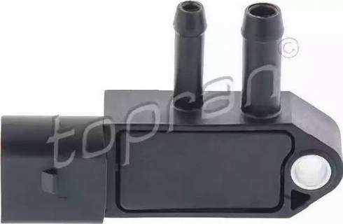 Topran 115398 - Capteur, pression des gaz échappement www.widencarpieces.com