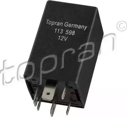 Topran 113598 - Relais, climatisation www.widencarpieces.com