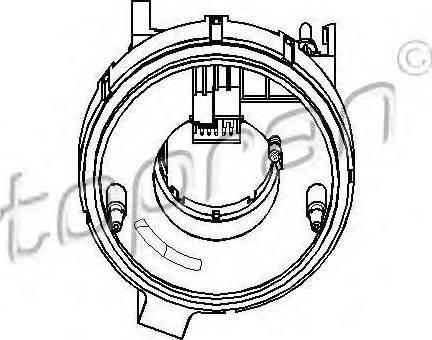 Topran 112409755 - Détecteur de l'angle de braquage www.widencarpieces.com