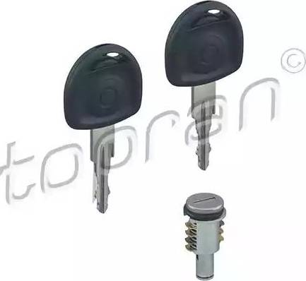 Topran 205810 - Cylindre de serrure www.widencarpieces.com