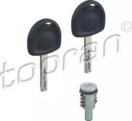Topran 205811 - Cylindre de serrure www.widencarpieces.com