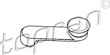 Topran 206049 - Manivelle de vitre www.widencarpieces.com