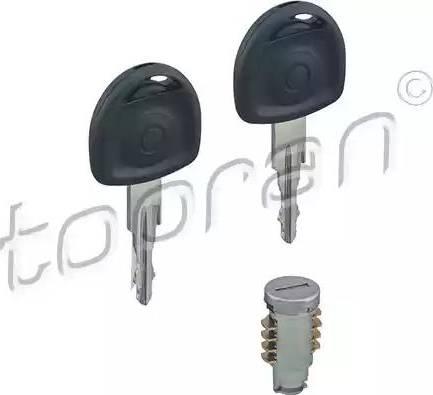 Topran 200020 - Cylindre de serrure www.widencarpieces.com