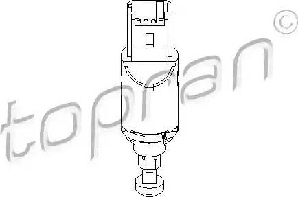 Topran 207436 - Commande, embrayage (régulateur de vitesse) www.widencarpieces.com