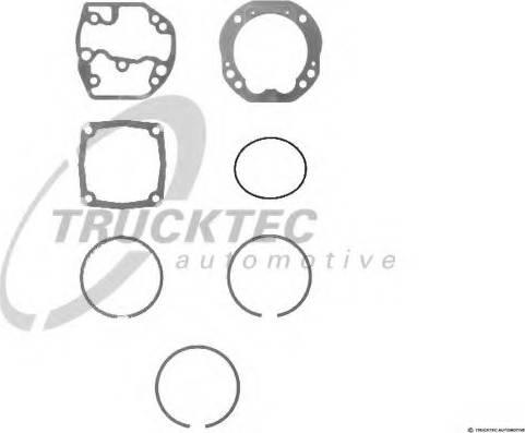 Trucktec Automotive 0143227 - Kit de réparation, compresseur www.widencarpieces.com