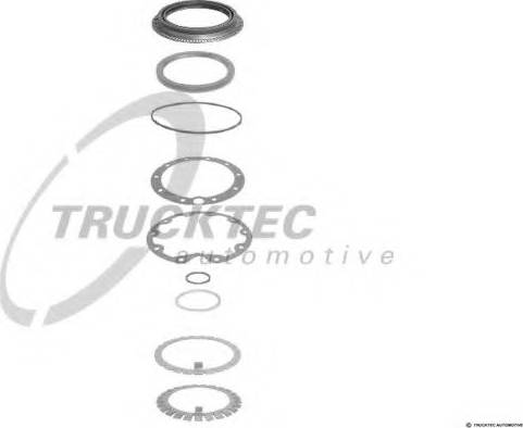Trucktec Automotive 0132017 - Jeu de joints d'étanchéité, engrenage planétaire www.widencarpieces.com