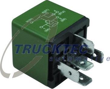 Trucktec Automotive 0242353 - Relais, correcteur d'assiette www.widencarpieces.com