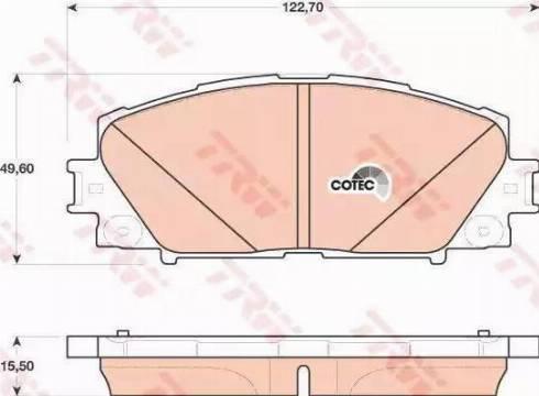 RIDER RD.3323.DB4173 - Kit de plaquettes de frein, frein à disque www.widencarpieces.com