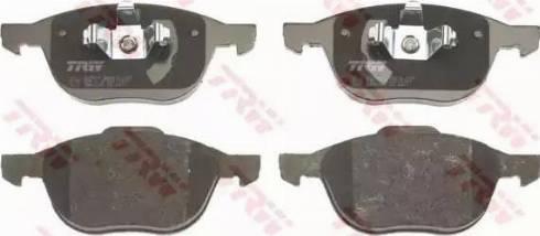 TRW GDB1583 - Kit de plaquettes de frein, frein à disque www.widencarpieces.com