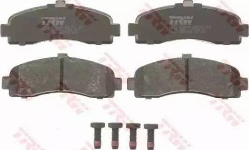TRW GDB1059 - Kit de plaquettes de frein, frein à disque www.widencarpieces.com