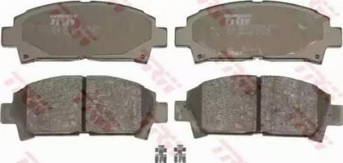 TRW GDB1145 - Kit de plaquettes de frein, frein à disque www.widencarpieces.com