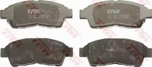 TRW GDB1143 - Kit de plaquettes de frein, frein à disque www.widencarpieces.com