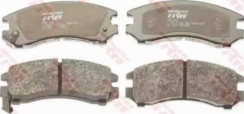 TRW GDB882 - Kit de plaquettes de frein, frein à disque www.widencarpieces.com