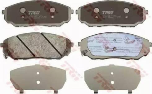 TRW GDB3452 - Kit de plaquettes de frein, frein à disque www.widencarpieces.com