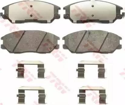 TRW GDB3465 - Kit de plaquettes de frein, frein à disque www.widencarpieces.com