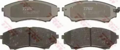 TRW GDB3403 - Kit de plaquettes de frein, frein à disque www.widencarpieces.com