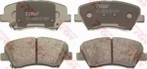 TRW GDB3552 - Kit de plaquettes de frein, frein à disque www.widencarpieces.com