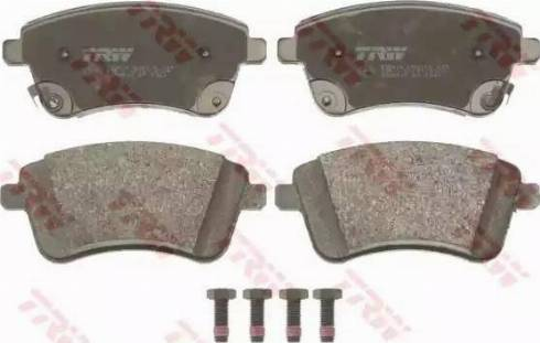 TRW GDB3509 - Kit de plaquettes de frein, frein à disque www.widencarpieces.com