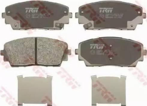 TRW GDB3535 - Kit de plaquettes de frein, frein à disque www.widencarpieces.com