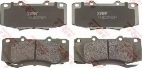 TRW GDB3528 - Kit de plaquettes de frein, frein à disque www.widencarpieces.com