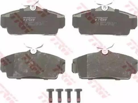 TRW GDB3168 - Kit de plaquettes de frein, frein à disque www.widencarpieces.com