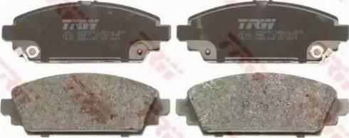 TRW GDB3189 - Kit de plaquettes de frein, frein à disque www.widencarpieces.com