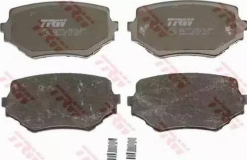 TRW GDB3132 - Kit de plaquettes de frein, frein à disque www.widencarpieces.com