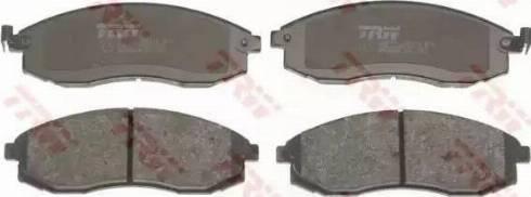 TRW GDB3124 - Kit de plaquettes de frein, frein à disque www.widencarpieces.com