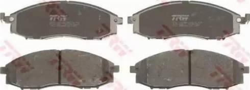 TRW GDB3340 - Kit de plaquettes de frein, frein à disque www.widencarpieces.com