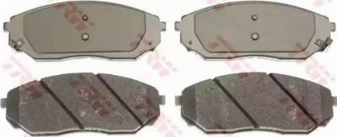 TRW GDB3343 - Kit de plaquettes de frein, frein à disque www.widencarpieces.com