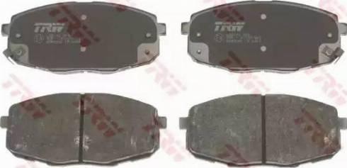 TRW GDB3342 - Kit de plaquettes de frein, frein à disque www.widencarpieces.com