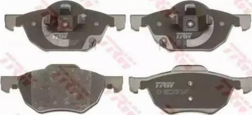 TRW GDB3355 - Kit de plaquettes de frein, frein à disque www.widencarpieces.com