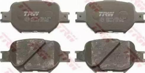 TRW GDB3316 - Kit de plaquettes de frein, frein à disque www.widencarpieces.com