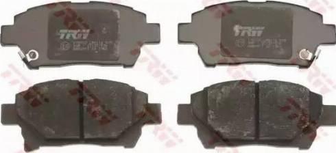 TRW GDB3317 - Kit de plaquettes de frein, frein à disque www.widencarpieces.com