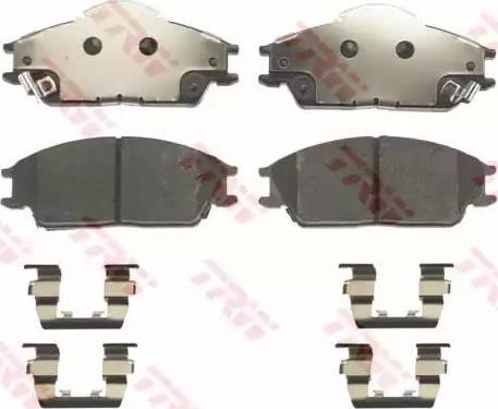 TRW GDB3331 - Kit de plaquettes de frein, frein à disque www.widencarpieces.com