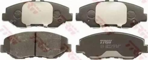 TRW GDB3325 - Kit de plaquettes de frein, frein à disque www.widencarpieces.com