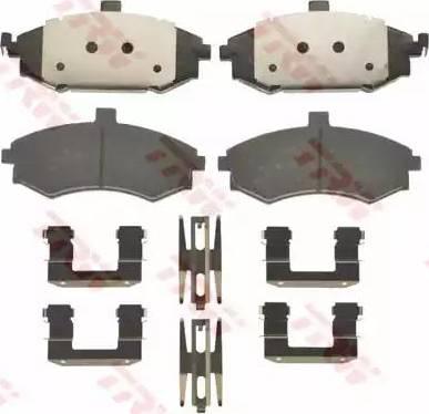 TRW GDB3378 - Kit de plaquettes de frein, frein à disque www.widencarpieces.com
