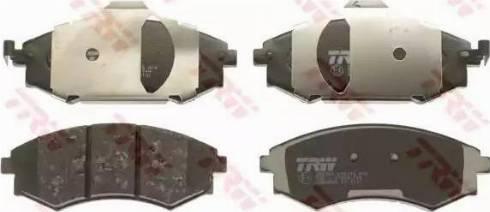 TRW GDB3256 - Kit de plaquettes de frein, frein à disque www.widencarpieces.com