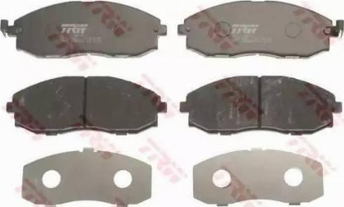 TRW GDB3201 - Kit de plaquettes de frein, frein à disque www.widencarpieces.com