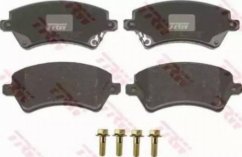 TRW GDB3288 - Kit de plaquettes de frein, frein à disque www.widencarpieces.com