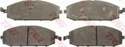 TRW GDB3222 - Kit de plaquettes de frein, frein à disque www.widencarpieces.com