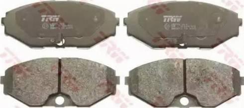 TRW GDB3273 - Kit de plaquettes de frein, frein à disque www.widencarpieces.com
