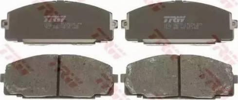 TRW GDB770 - Kit de plaquettes de frein, frein à disque www.widencarpieces.com